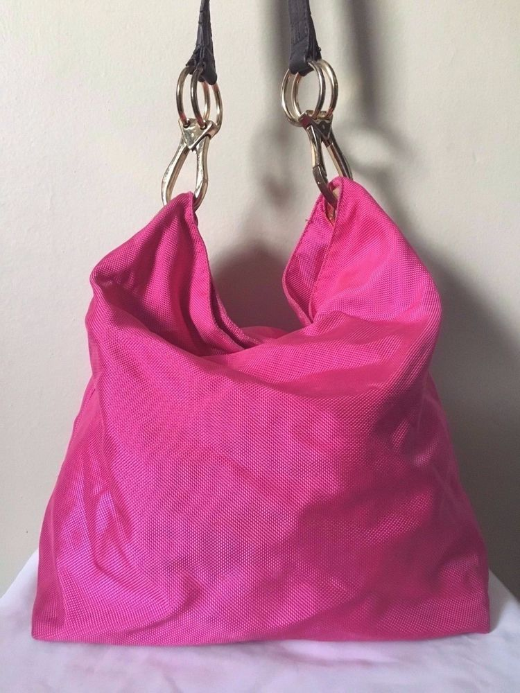 Jpk Paris 75 Womens Pink Nylon Bucket Bag Jpkparis75 Bucketbag