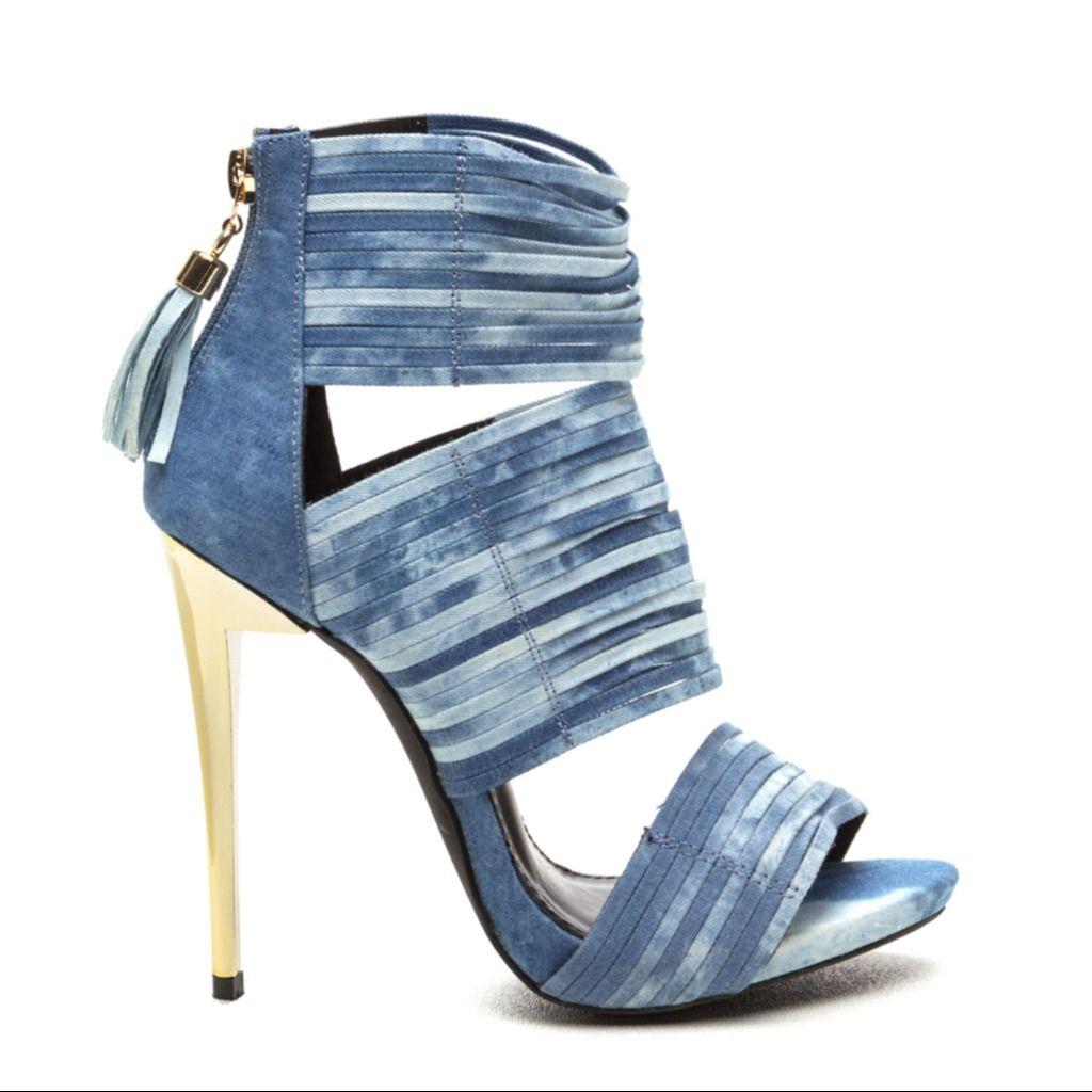 ebdbe8cf75d1 Brand New Denim Heels