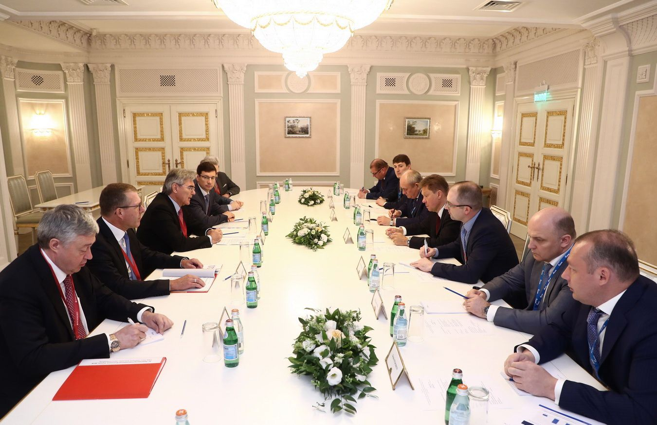 Gazprom and Siemens discuss prospects of creating joint