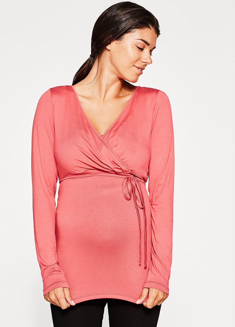 8814926eb52fb Esprit - Azalea Nursing Tee Mommy Fashion, Nursing Tops, Maternity Nursing,  Mommy Style