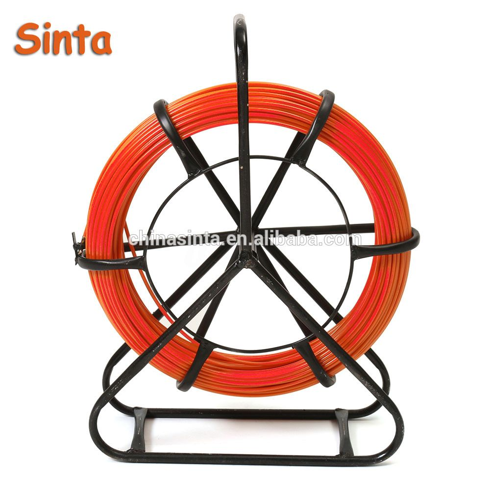 100M Fiberglass Duct Rodder Fish Tape Cable Running Rod Wire Puller ...
