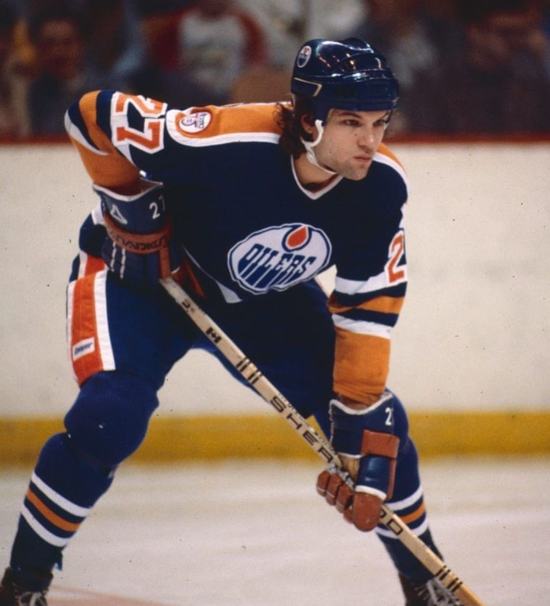 Dave Semenko Edmonton Oilers Oilers hockey, Edmonton