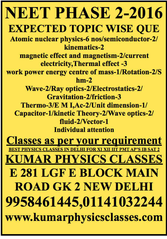 KUMAR (EX FIITJEE) / (EX AAKASH) FACULTY Best Physics Home Tuition/group  Classes For Physics In South Delhi For Class U2026 | Pinteresu2026