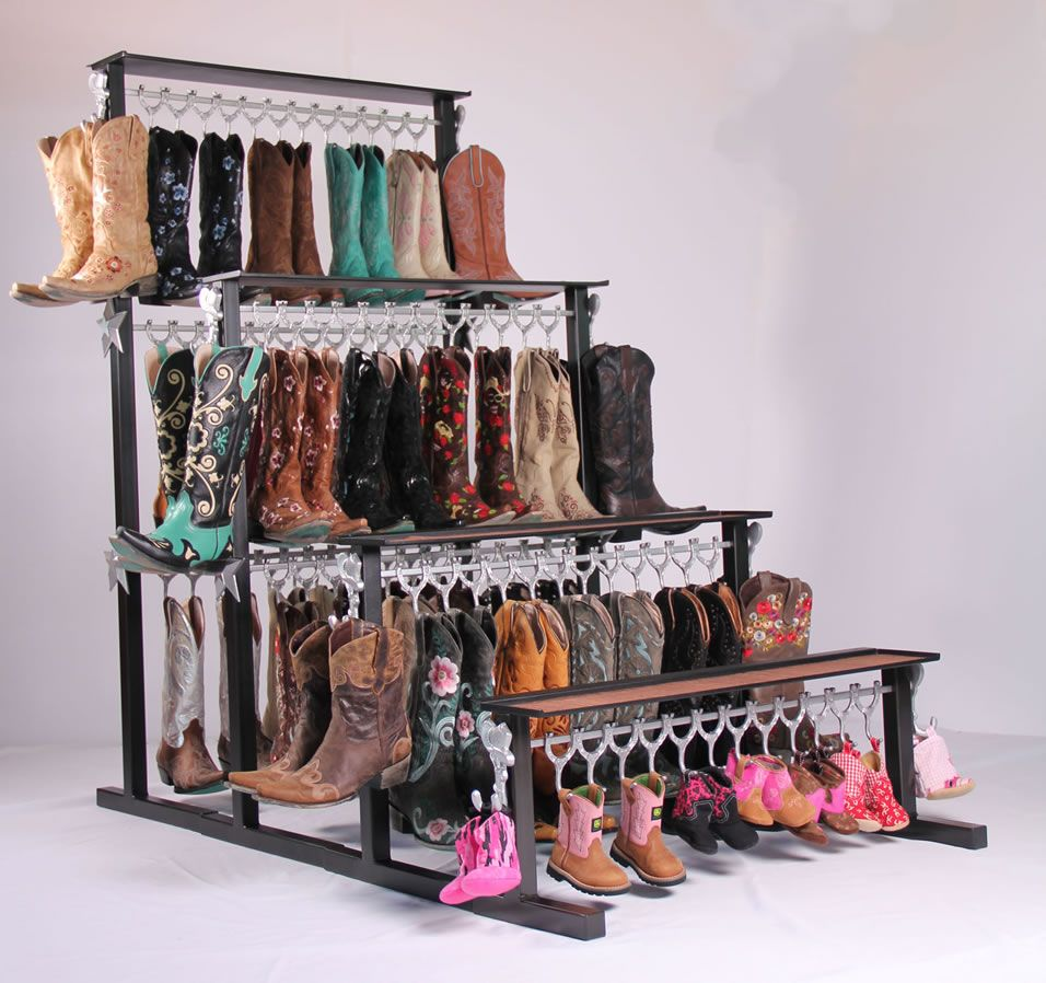 Building A Boot Rack Home is where the heart is
