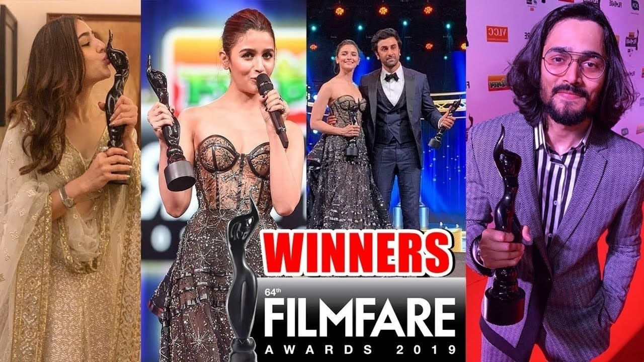 Full Winner List of Filmfare Awards 2019 | 64th Filmfare