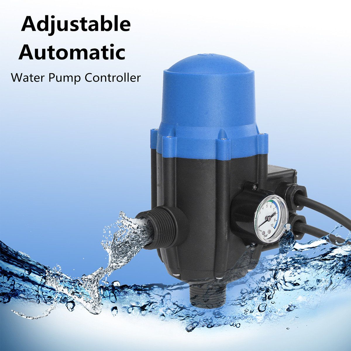 Adjustable Water Pump Automatic Pressure Controller