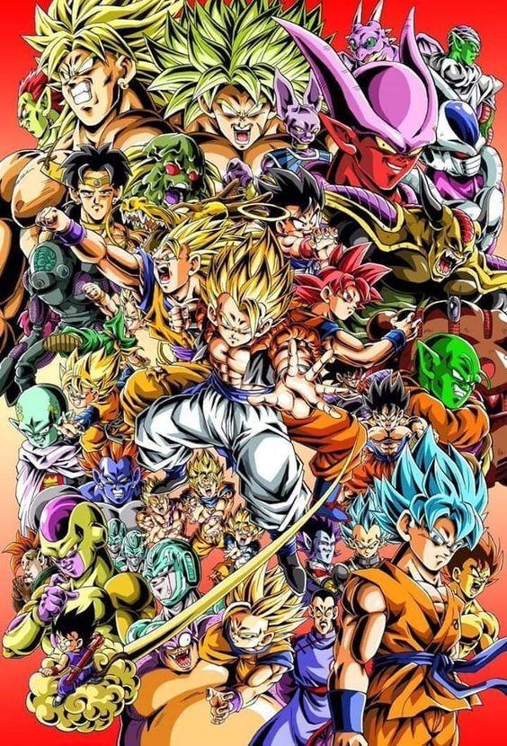 Wallpapers Dragon Ball Z Fondos De Pantalla Hd Celular En 2020 Personajes De Goku Pantalla De Goku Personajes De Dragon Ball