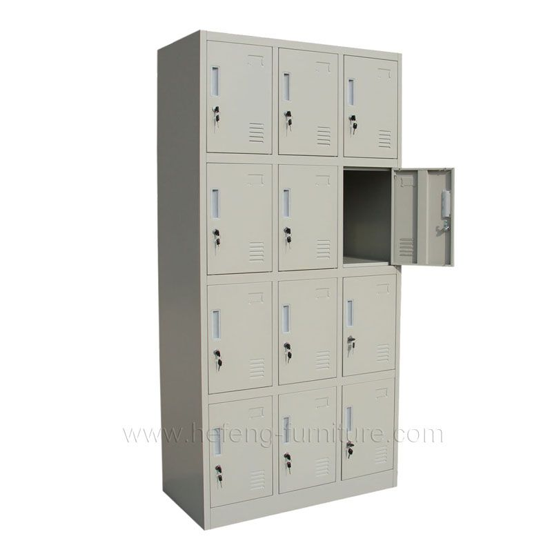 12 Door Garment Lockers Luoyang Hefeng Furniture Lockers Locker Supplies Locker Storage