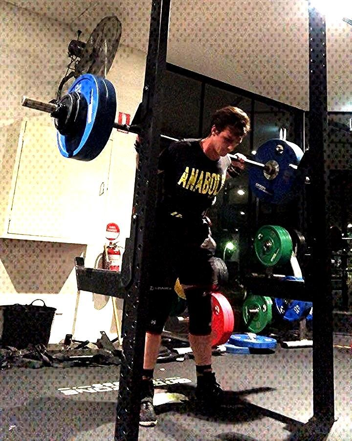Late post from squats but here they are. My 3rd set of 112.5kg was tough but I knew I could have 11