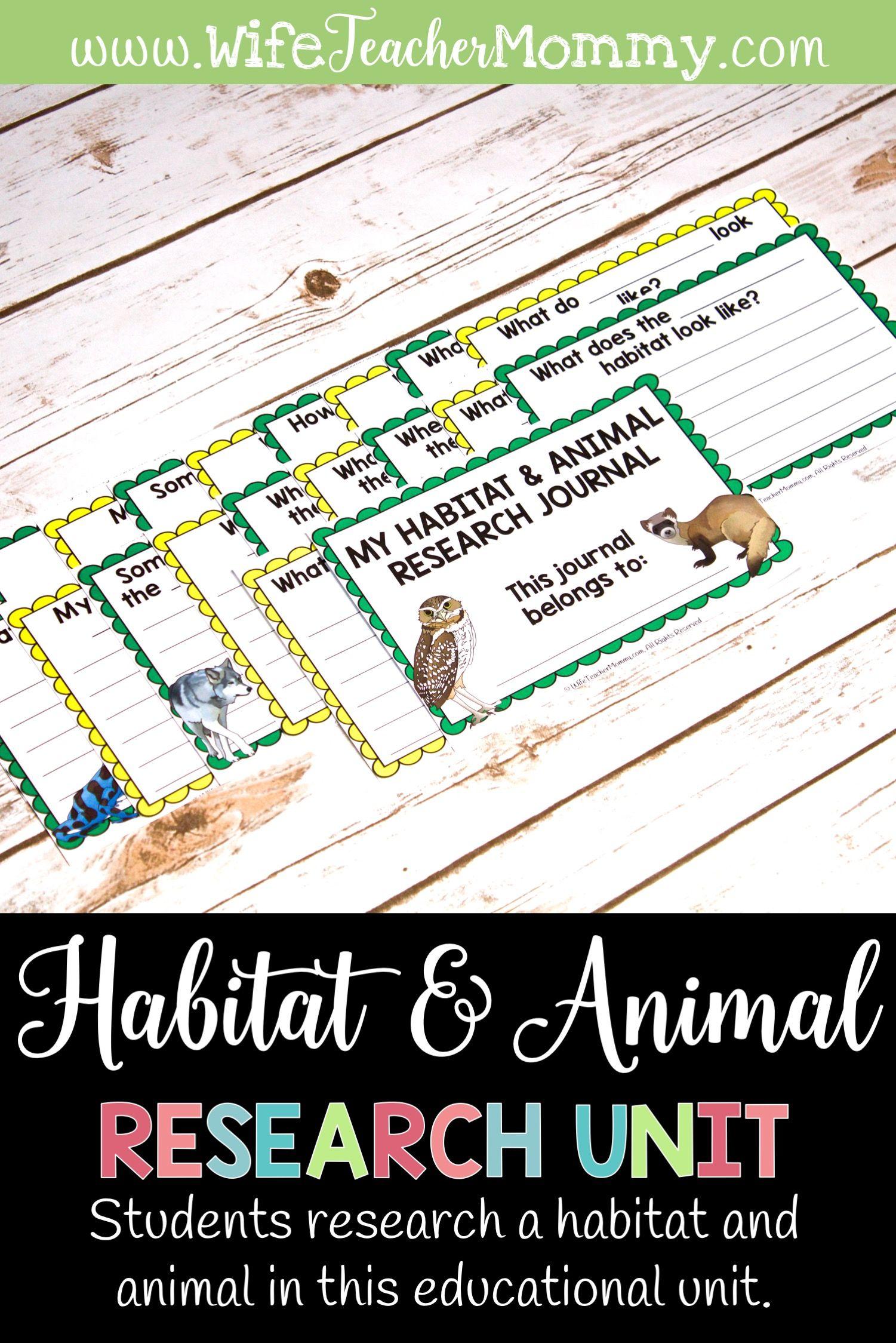Animals And Habitats Research Unit