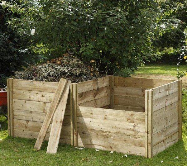 composteur bois diy id es et astuces pratiques pour vous compost. Black Bedroom Furniture Sets. Home Design Ideas