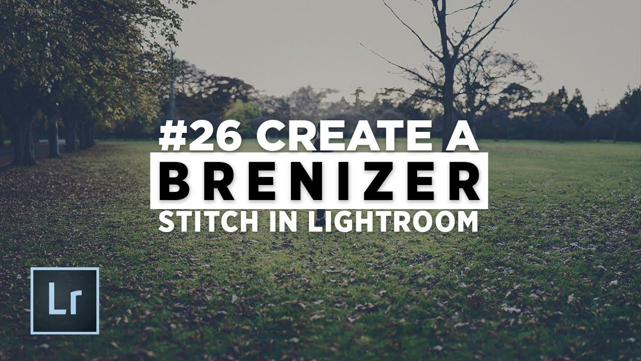 Brenizer method lightroom