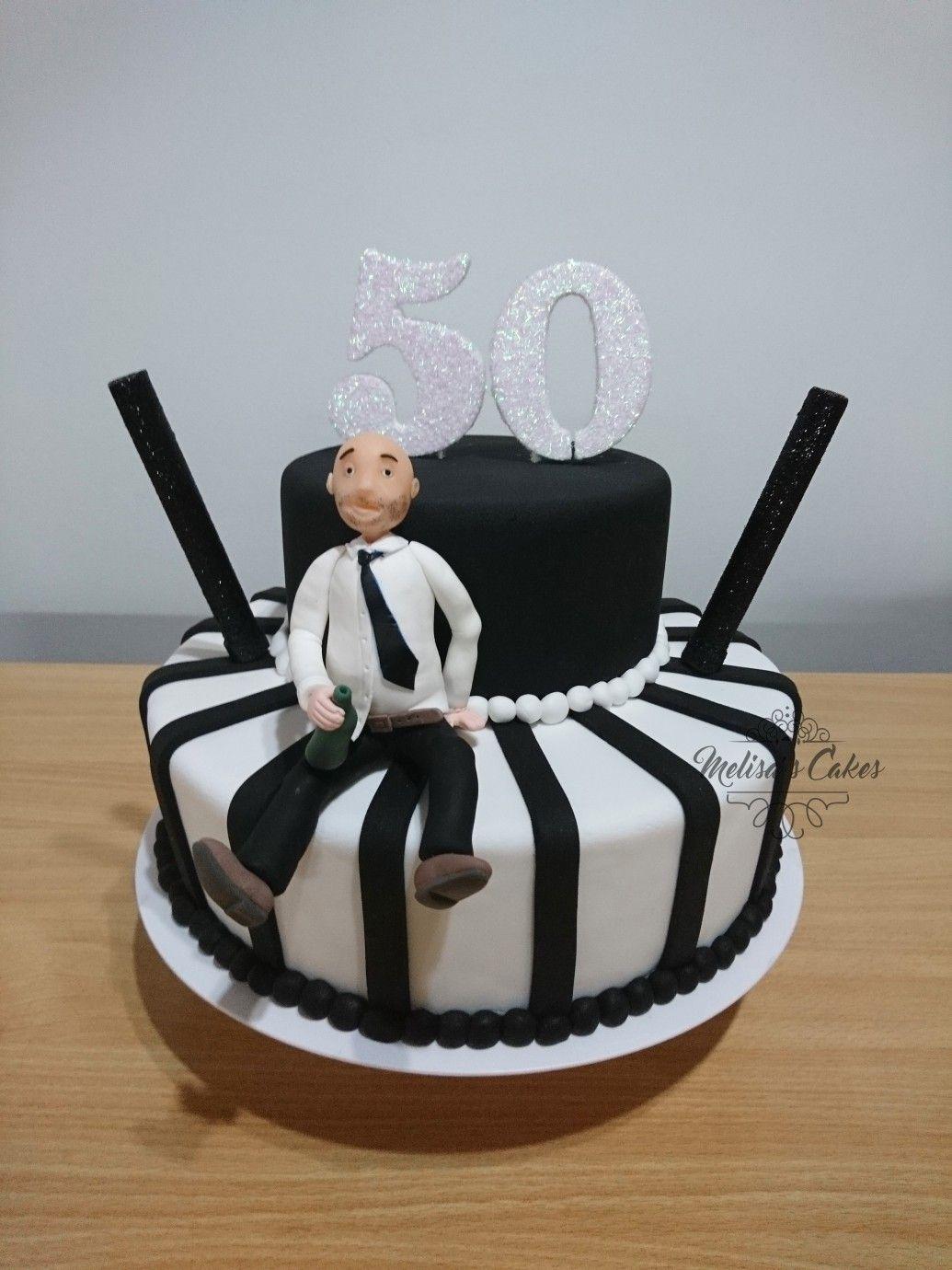 Torta Hombre 50 Años Tortas De 50 Años Tortas Para Hombres Tortas