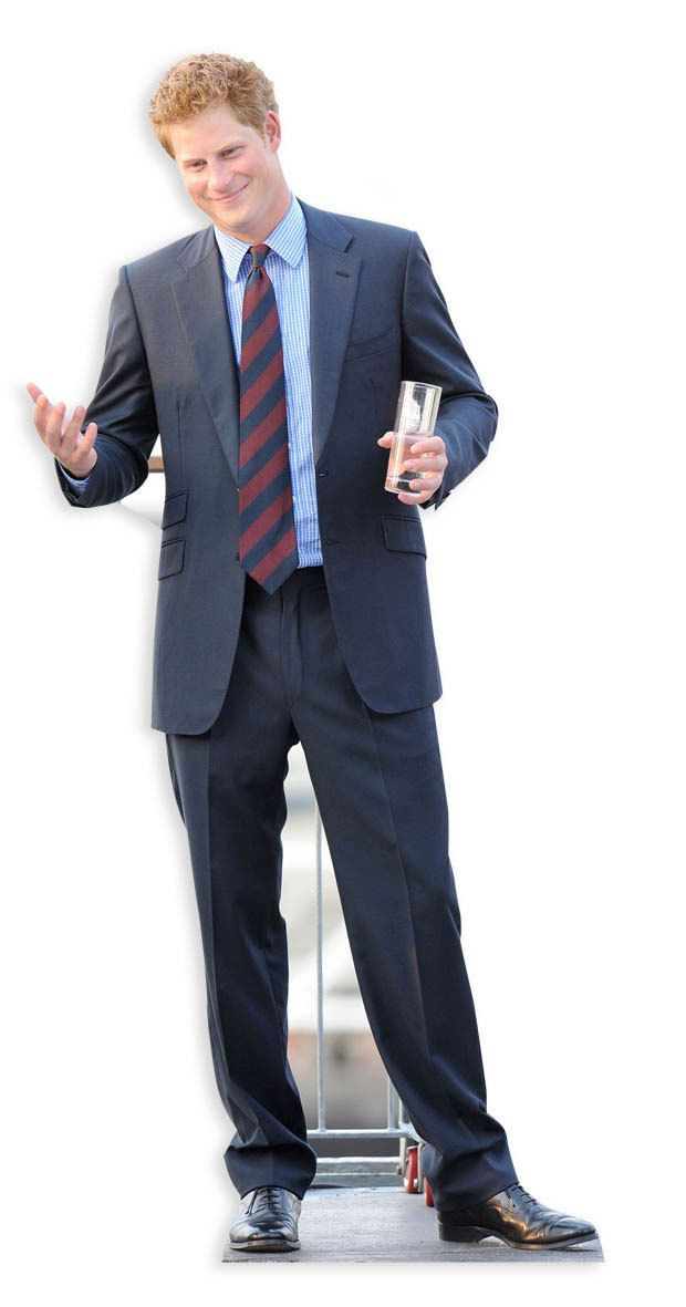 Prince Harry Lifesize Cardboard Cutout Standee Standup Cardboard Cutout Cardboard Cutouts Great Mothers Day Gifts
