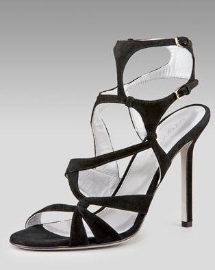 1b096c954de3 Sergio Rossi Python-Embossed Gladiator Sandal Choose giada or sigar  python-embossed leather.