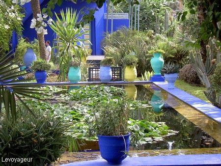 Jardin Majorelle Maroc North Africa Jardin Majorelle Pinterest