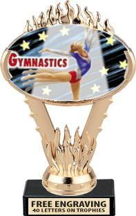Gymnastics Insert Trophies 3.95