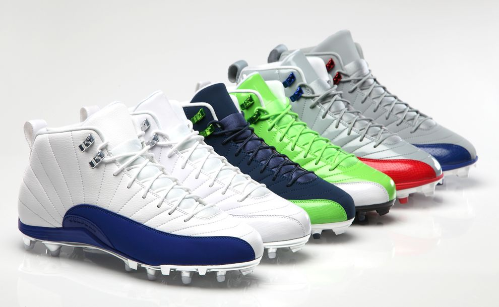 Air Jordan XII (12) Football Cleats - EU Kicks: Sneaker Magazine