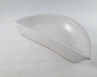 HALF PIE PLATE Handmade Stoneware in Blue / by PaschalPottery & HALF PIE PLATE Handmade Stoneware in Blue / by PaschalPottery ...