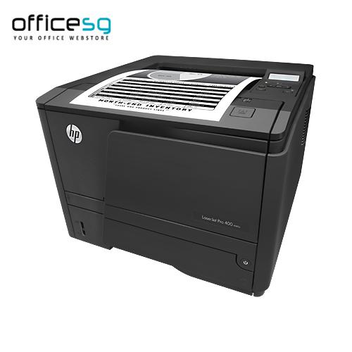 Buy Hp Laserjet Pro 400 Printer M401n Online Shop For Best All In One Printers Online At Officesg Com Discou Printer Printer Ink Cartridges Black Printer Ink
