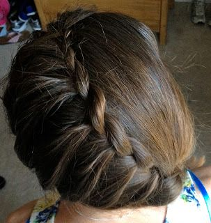 Making Life Happen. one sided braid