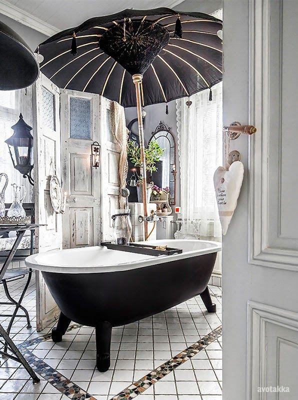 Bohemian Bathroom Ideas Modern Hollywood Glamour Decor