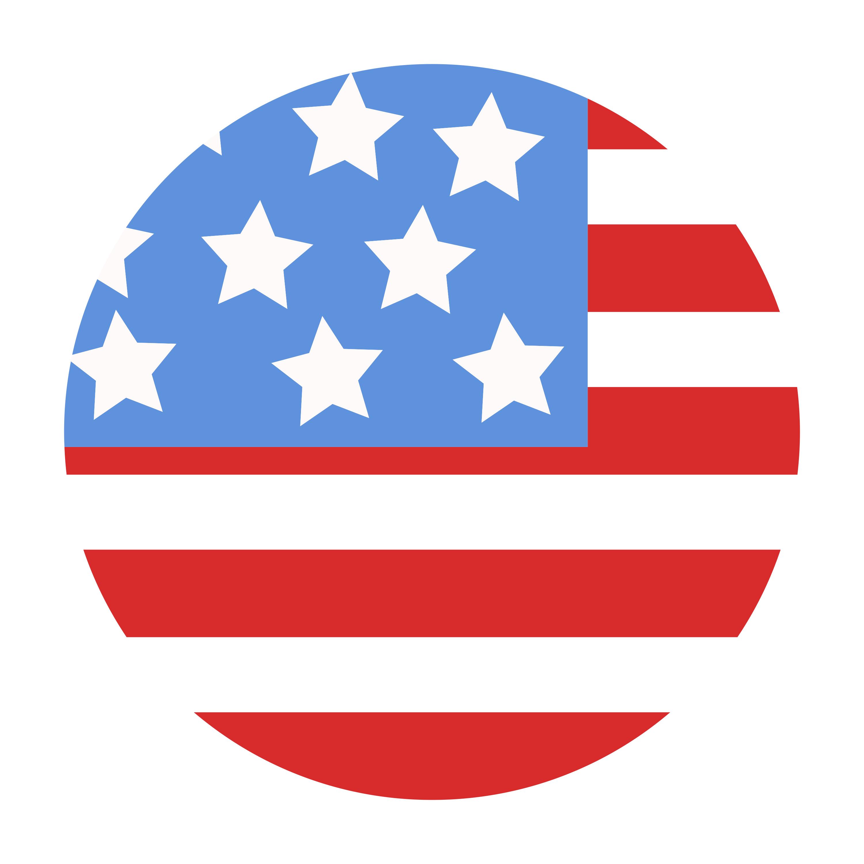 All American Modular 75 Usa Flag Design In Circle Vector History Of Flags Flag Design Flag