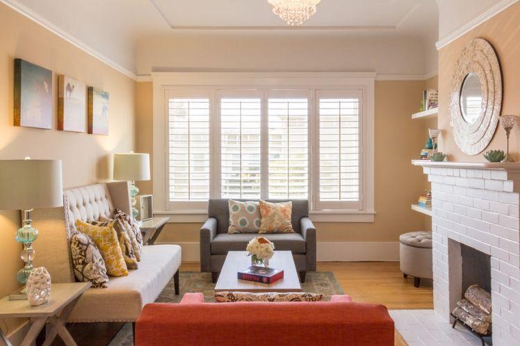 Kleine Sofas für kleine Räume \u2013 Mit 2-Sitzern einrichten Pinterest - wohnzimmer ideen für kleine räume