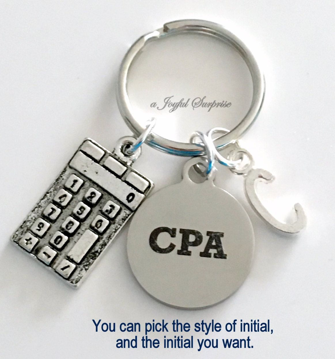 Chartered Accountant Cpa Gift For Cpa Key Chain Chartered Professional Accountant Present