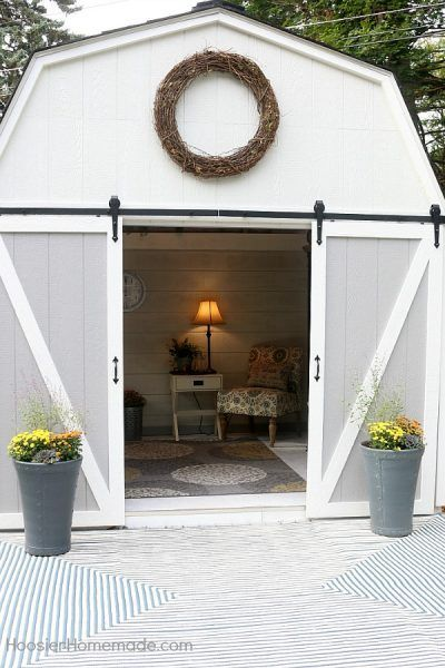 She Needs a She Shed with Fixer Upper Farmhouse Flair! - The Cottage Market
