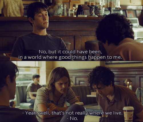 Well... We don't really live there do we?    Love (500) Days of Summer