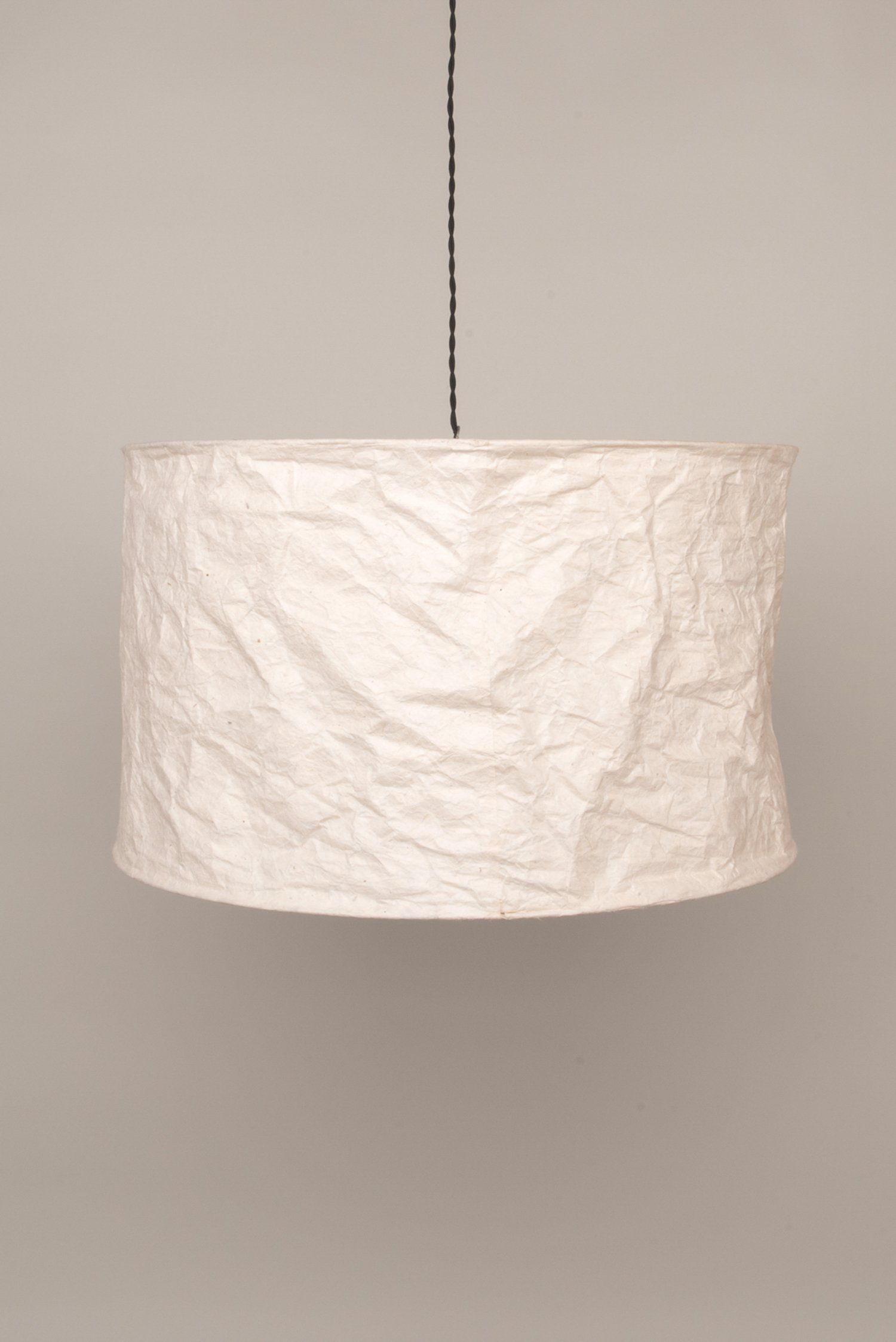 Natural Loka Paper Lampshade Ian Snow Ltd