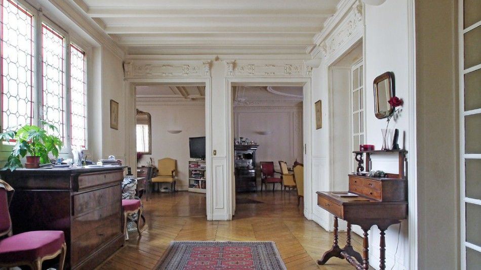 appartement haussmannien french interiors french style pinterest french interior french. Black Bedroom Furniture Sets. Home Design Ideas