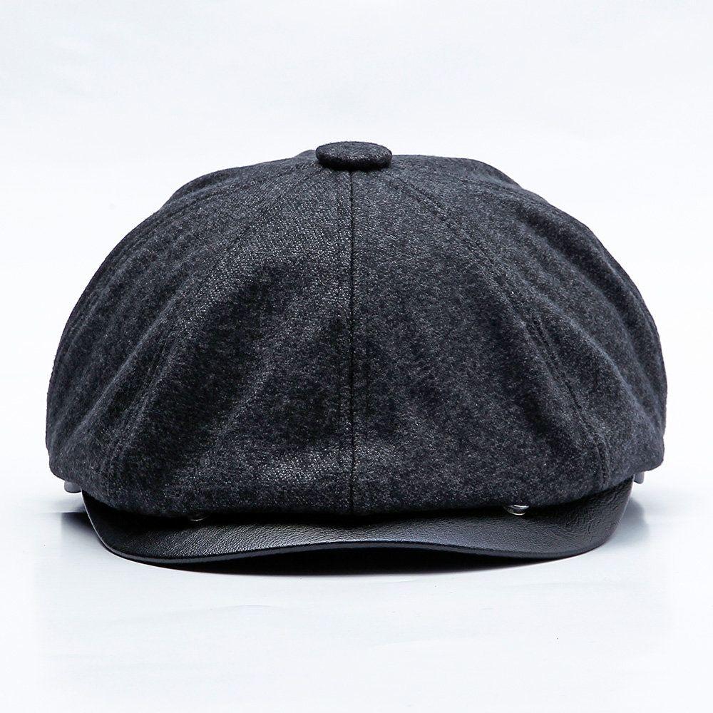 US Ladies Womens Suede Baker Boy Peaked Cap Summer Newsboy Hip-hop  Baseball Hat