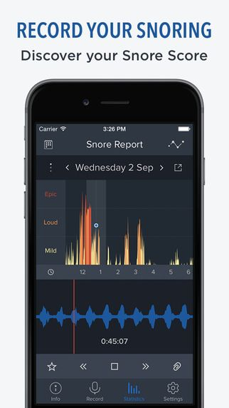 SnoreLab Record Your Snoring by Reviva Softworks Ltd