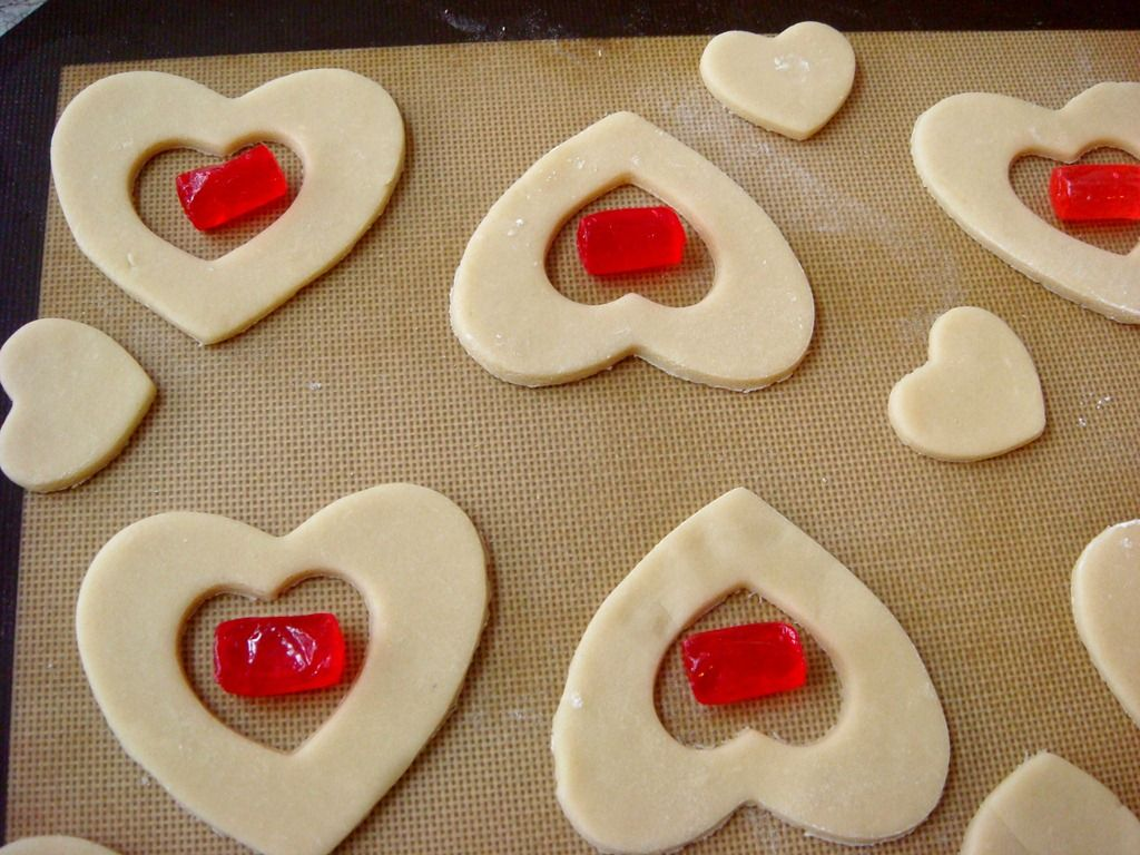 Stained Glass Cookies With Jolly Ranchers Video Tutorial Cookies