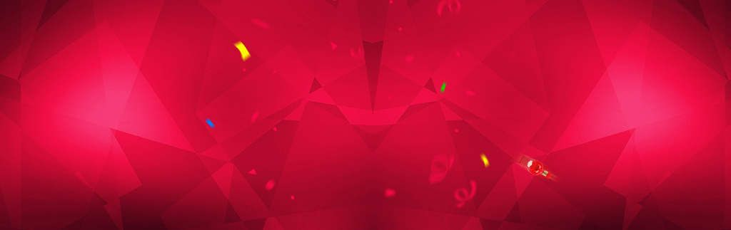 Gradient Geometry Red Banner Background Vector Backgrounds Free