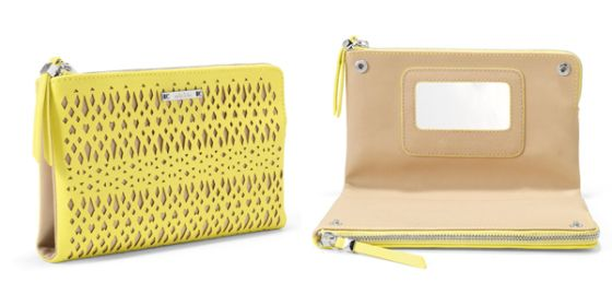 Adorable citrine double clutch from Stella & Dot.   www.stelladot.com/angelasuddath