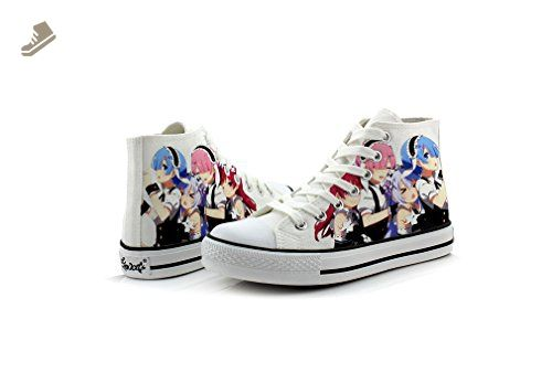 Re:Zero Life in a Different World Canvas Shoes Cosplay Shoes Sneakers Colorful