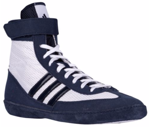 e73bfff1981c Adidas Combat Speed 4 Wrestling Shoes - White Navy