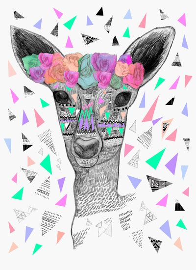 BLOWN A WISH Art Print by Kris Tate   Society6