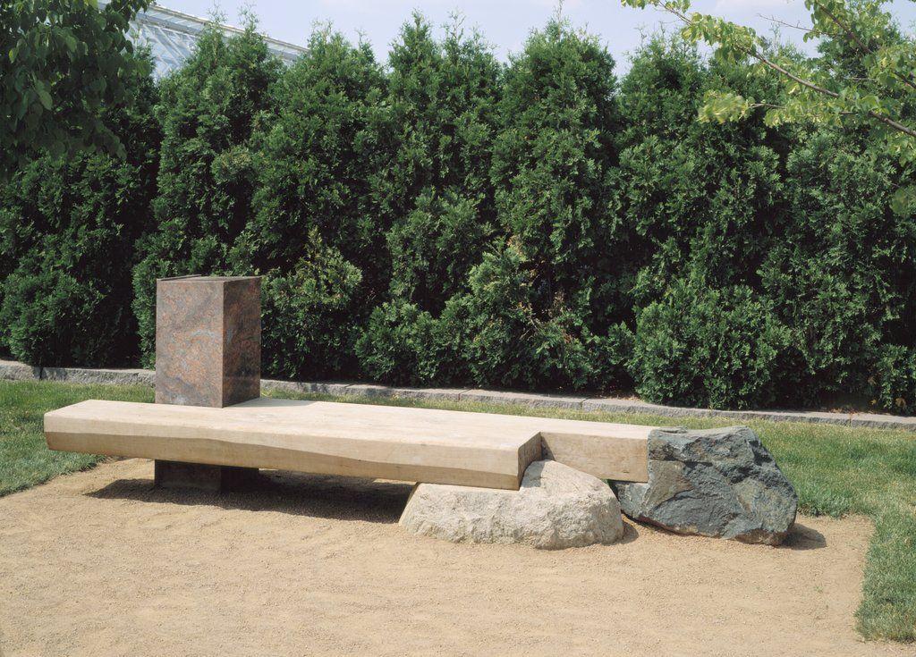 Kinji Akagawa, Garden Seating, Reading, Thinking