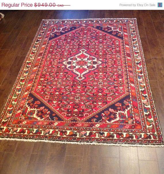 Item 2051, Magnificent Hamedan Rug, 6'11 x 4'2 – Mutiara