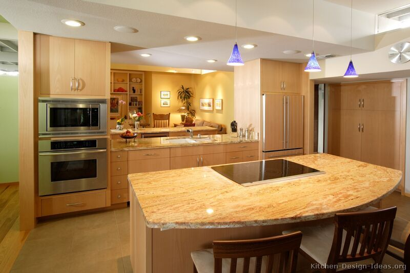 Kitchen granite countertops ideas with granite countertop for Kitchen granite countertops colors