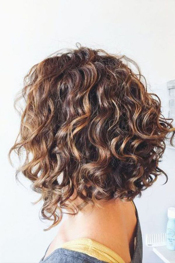 Simple And Trendy Haircuts Great For Curly Hair 💇🏼