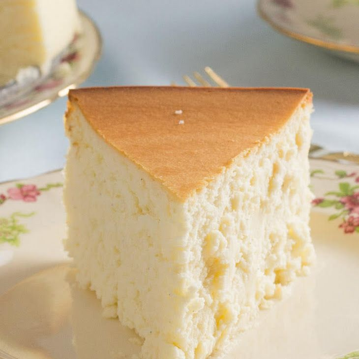 Tall And Creamy New York Cheesecake Recipe Desserts With Cream Cheese Large Eggs Sour Cream Butter Sugar Corn Cheesecake Recipes Desserts Dessert Recipes