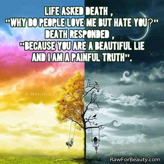 Painful truth A beautiful lie, Life, Life quotes