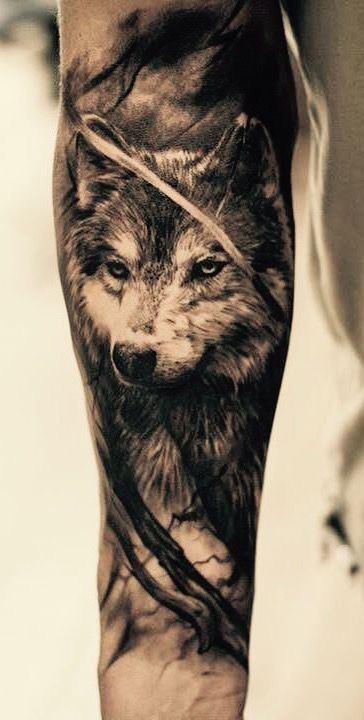 10 Forearm Tattoo Ideas For Men How To Get Half Sleeve Inked And Look Stylish Wolf Tattoos Wolf Tattoo Hawaiian Tattoo