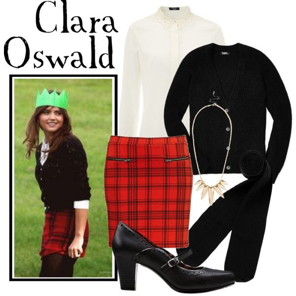 """Clara Oswald"" by companionclothes on Polyvore"
