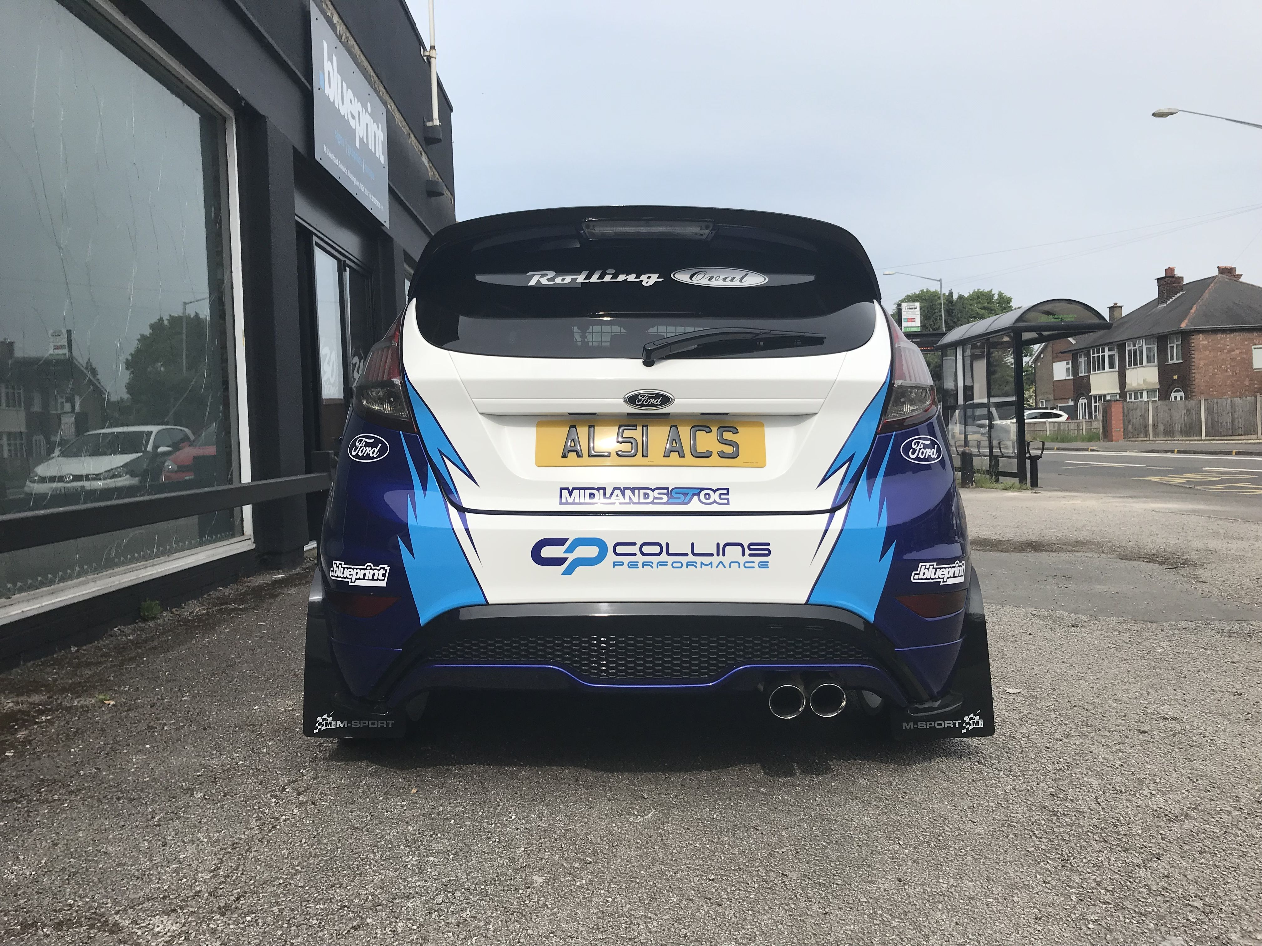 Ford Fiesta St3 Collins Performance Cp2 Ford Ford Fiesta Ford